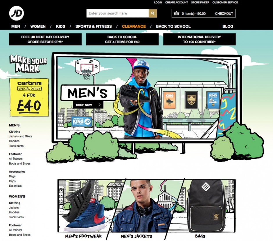 JD Sports - Website