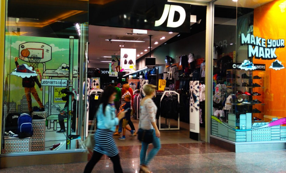 JD Sports - front