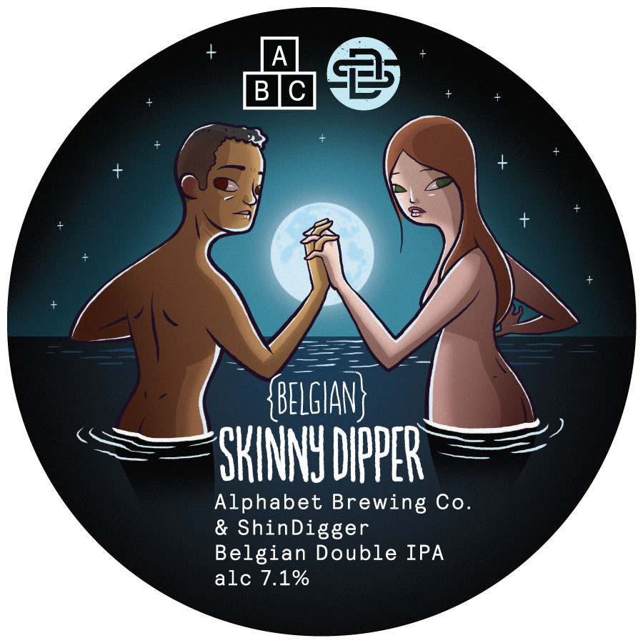 Skinny-Dipper-Font-Badge