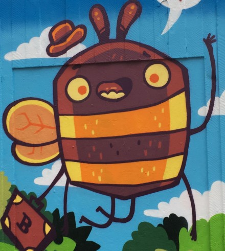 Outhouse Bee