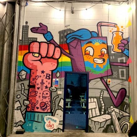 Juice Springsteen Mural